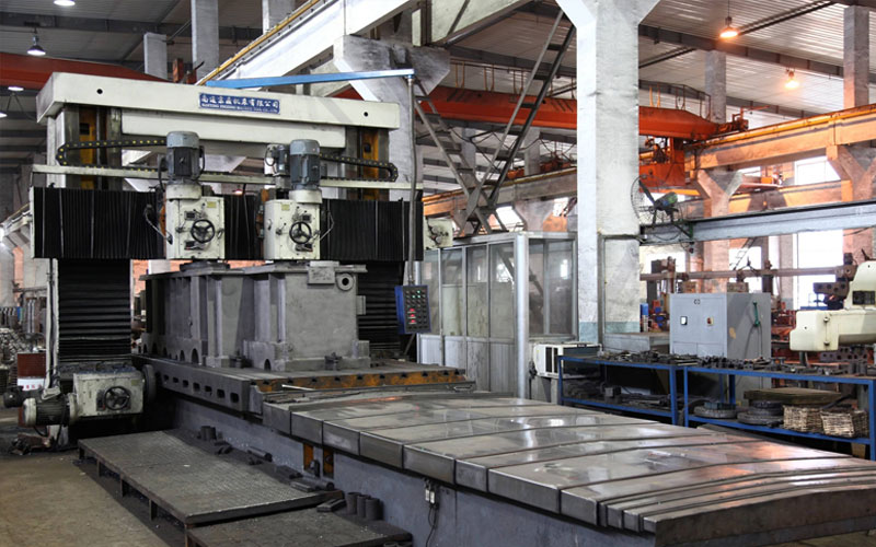 Large boring and mill machine can realize high efficiency production