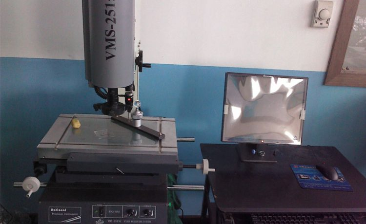 Online measurement of CNC machining