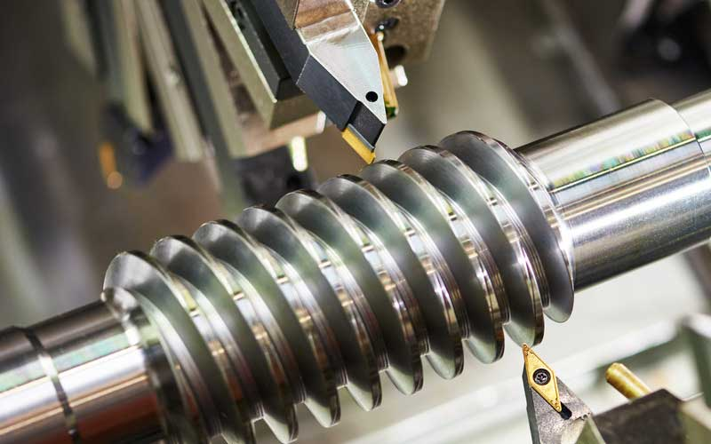 Hydrostatic bearings are used in the spindles of CNC machine tools such as machining centers